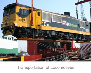 Transportation of Locomotives