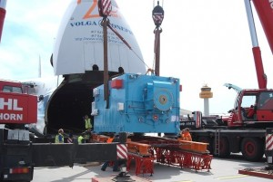 Transportation of 2 Generators from Bremerhaven to Hamburg airport